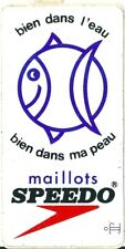Autocollant sticker Maillot de bain Speedo