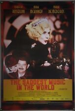 THE SADDEST MUSIC IN THE WORLD DS ROLLED ORIG 1SH MOVIE POSTER GUY MADDIN (2004)