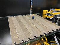 1/50 Real Wood Weathered 42ft Crane and Equipment Mats for Cranes Trucks Diorama
