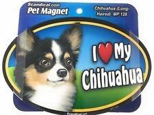 I Love My Chihuahua (Long Hair) Gifts, Cars, Trucks. Lockers Scandical
