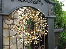 Berry Wreath - Cream - Wedding Decorations
