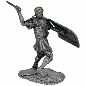 Ancient Rome. Roman legionnaire. Tin toy soldiers.54mm miniature metal sculpture