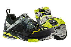 Northwave Explorer GTX Gore-Tex Mens Mountain Bike Shoes EU 41 US 8 Black Yellow