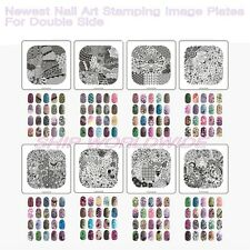 SALE Newest Nail Art Stamping Image Plates Set (01#~04#) with beauty case