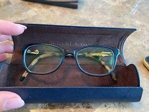 Authentic Robert Marc Glasses Tortoise & Green Frames Eyeglasses Made in France