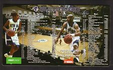 Seton Hall Pirates--2001-02 Basketball Magnet Schedule
