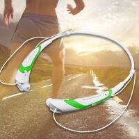 Wireless Headphone Bluetooth Headset Stereo Earphone w/ MIC 10 Hours Playing