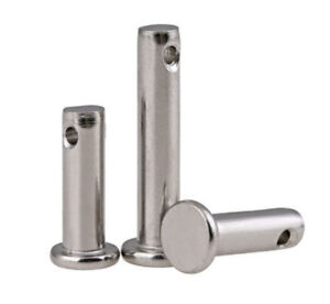 M6 M8 M10 M12 304 Stainless Steel Flat head Cotter-Pin / Clevis Pins with Head