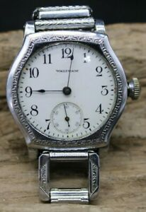Waltham 1907 TRENCH Watch Case 0 Size Grade 161 Gents Vintage Watch (O3N3)