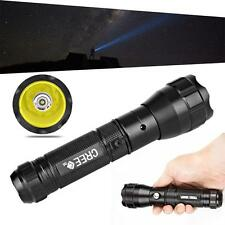 Rechargeable Portable Flashlight 300LM CREE Q5 LED Tactical Torch Lamp Light YYZ