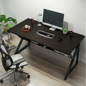 100x60cm Home Study Table Computer Laptop Desk Office Worksation w/ Metal Legs