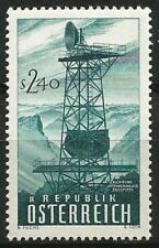 Austria 1959 MNH - Inauguration Microwave Network Transmitting Aerial Zugspitze