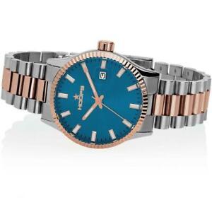 Orologio Donna HOOPS LUXURY  L 2590LSRG06 Bracciale Acciaio Bicolor Rosè Blu
