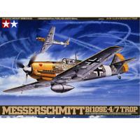 Tamiya 61063 Messerschmitt Bf109E-4/7 Trop 1/48