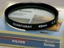 49mm Screw-In Filter QUANTARAY CROSS SCREEN 4-PT STAR NEW OLD STOCK Made JAPAN