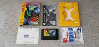 Kolibri Sega 32X 32 Genesis Game Complete w/ Box Inserts & Manual CIB lot TESTED
