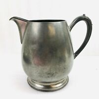 Vintage NEW AMSTERDAM SILVER CO. p893 PEWTER Water Pitcher Planter