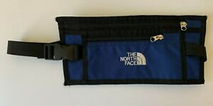 THE NORTH FACE small flat embroidered blue waist body bum bag