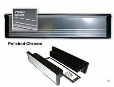 """12"""" CHROME letter plate Letter BOX , with brushes d30"""