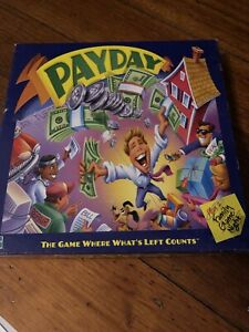 Payday Board Game Parker Brothers 2000 Edition.