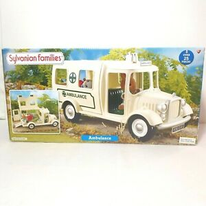 Sylvanian Families - Ambulance - Hospital Car - RARE - 4421