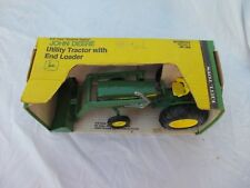 John Deere Utility Tractor / loader JD 1/16 scale Vintage Ertl Co NIB in Box 517