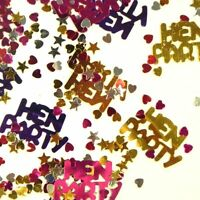 Hen Night Party Table Confetti Sprinkles Decoration NEW
