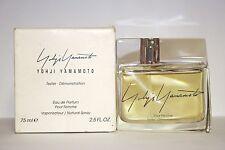 Yohji Yamamoto Unbox 2.5/2..6oz. Edp Tester Spray For Women New