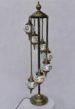 Stehlampe Lampe Orientalisch Istanbul Mosaiklampe Orient 1001 Nacht GL01BL-a