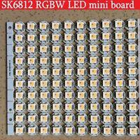 SK6812 RGBW RGB WWA Addressable LED Pixel Chips Heat Sink PCB Board 5V