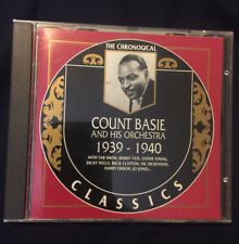 The Chronological Classics 563 Count Basie and his Orchestra  1939 - 1940