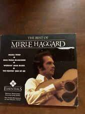 "MERLE HAGGARD cd ""Essentials the Best Of"" 2005 St Clair 777966693323 / IMPORT"