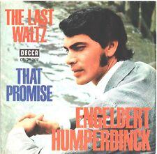 "Vinyl-7""-Cover # only Cover # Engelbert # The Last Waltz # 1967 # Decca # vg"