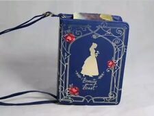 Disney Beauty And The Beast Blue Book Purse