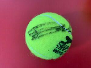 Emma Raducanu Wimbledon Champions Slazenger Tennis Ball Signed Auto