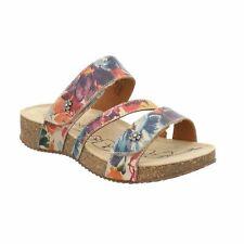 Josef Seibel Tonga 54 Beige Floral Tonga Slip On Sandals