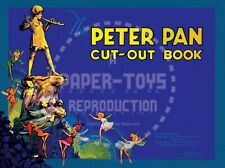 Vintage Reprint - Rare Peter Pan Punch-Out Book - Reproduction
