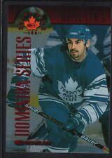 MATHIEU SCHNEIDER 1997/98 DONRUSS CANADIAN ICE #116 DOMINION LEAFS SP #126/150