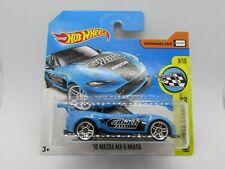 2015 Mazda MX-5 Miata Hot Wheels Speed Graphics 1:64 Scale Diecast Car SHORTCARD