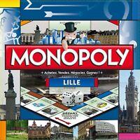 Monopoly Lille City Stadt Edition Spiel Brettspiel Frankreich französisch NEU