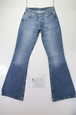 Levis 544 Flare Bootcut Cod. B287 Tg40 W26 L34 vaqueros usados Talle Bajo mujer