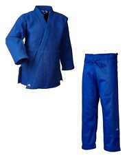 Judoanzug adidas®  J990S Millenium blau, extra fester Stoff 990 gr./m² 160-200