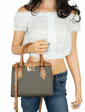 Michael Kors MOTT MD Sachel Messenger Bag - Brown