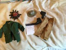 Vintage 1970s Hasbro Gi Joe White Tiger Hunt #7436 Pants jacket hat fire boots
