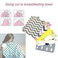 1X Cotton Lovely Nursing Breastfeeding Cover Pregnant Towel For Mother Nurs T3Y9