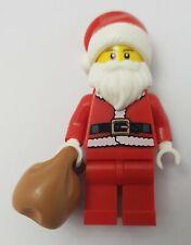 LEGO Santa Claus - Father Christmas Minifigure with Sack - BRAND NEW