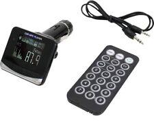 AIV FM Transmitter USB SD Display RDS-Text Auto-Radio AUX MP3-Player Kfz Adaper