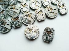 Watch Parts Vintage Mechanisms, Gear 20 pc. Steampunk Movements 18 mm and 20 mm