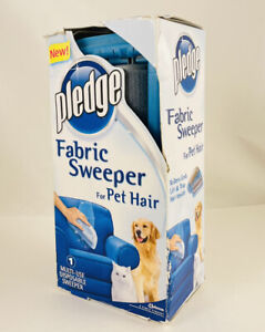 New Pledge Fabric Sweeper For Pet Hair Multi-Use Disposable Sweeper