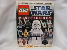 LEGO STAR WARS MINIFIGURES - MORE THAN 1000 REUSABLE STICKERS - NEW - 2012